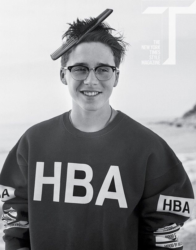 Brooklyn Beckham Looks Handsome In New Photo Shoot For T Magazine