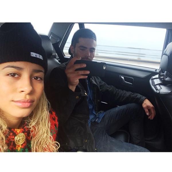 Sami Miro, Zac Efron, Instagram