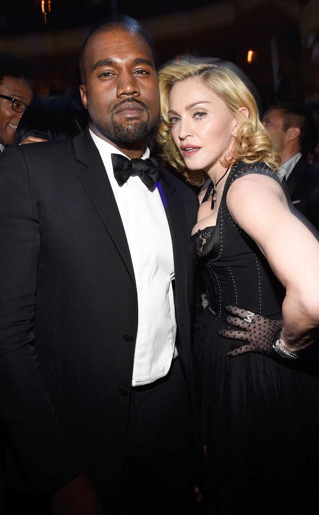 Kanye West, Madonna