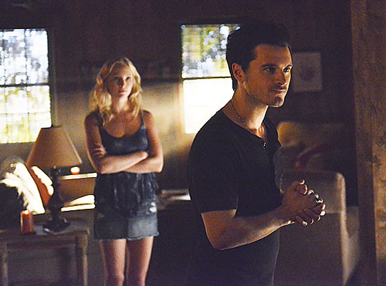 The Vampire Diaries, Candice Accola, Michael Malarkey