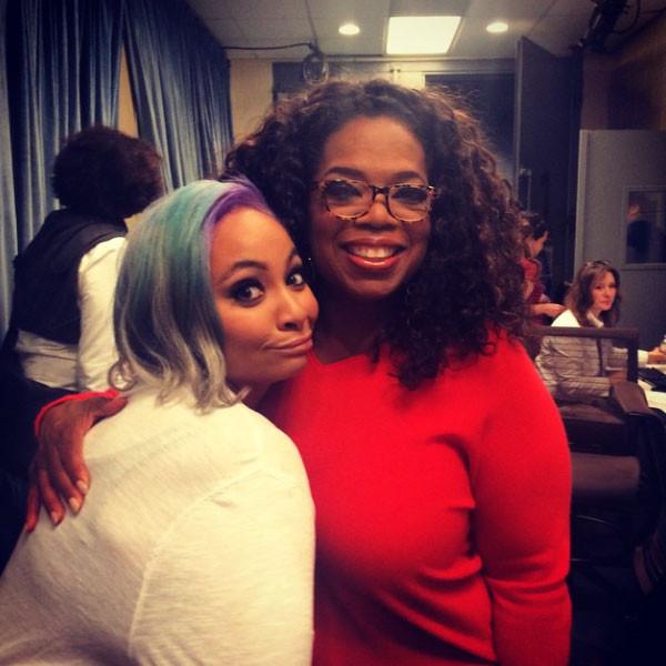 Oprah Winfrey, Raven Symone, Instagram