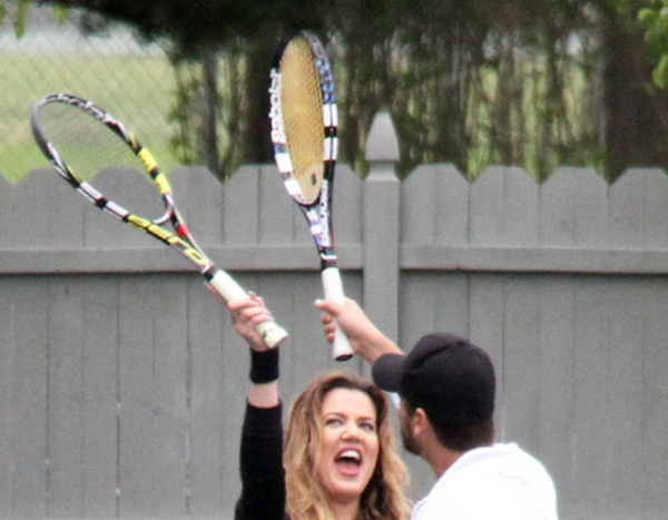 Tennis Pals From Khlo Kardashian And Scott Disicks Love Affair  E News-9168