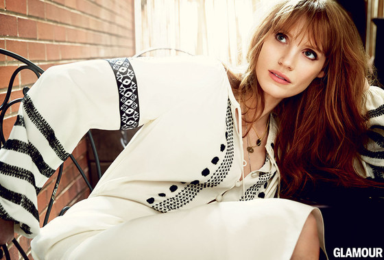 Jessica Chastain, Glamour