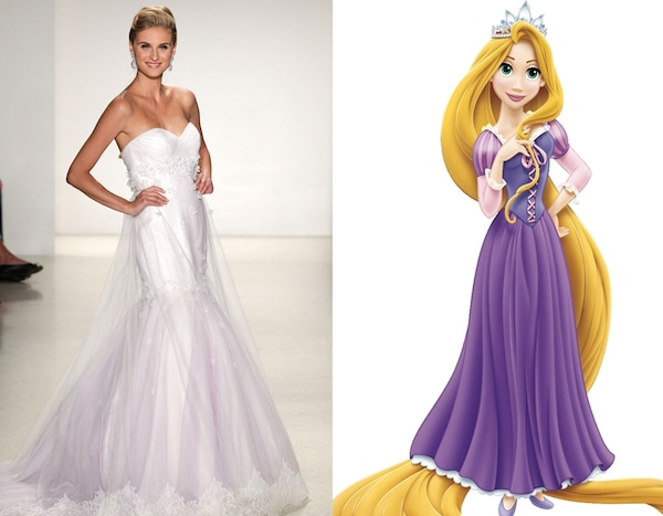 Rapunzel From Alfred Angelo S Disney Princess Wedding