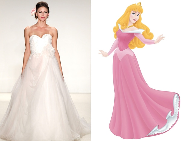 Aurora From Alfred Angelo's Disney Princess Wedding Gowns