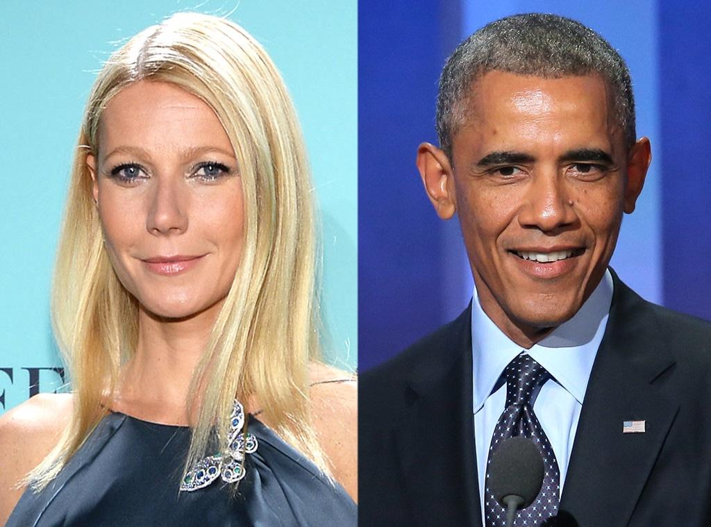 Gwyneth Paltrow, Barck Obama