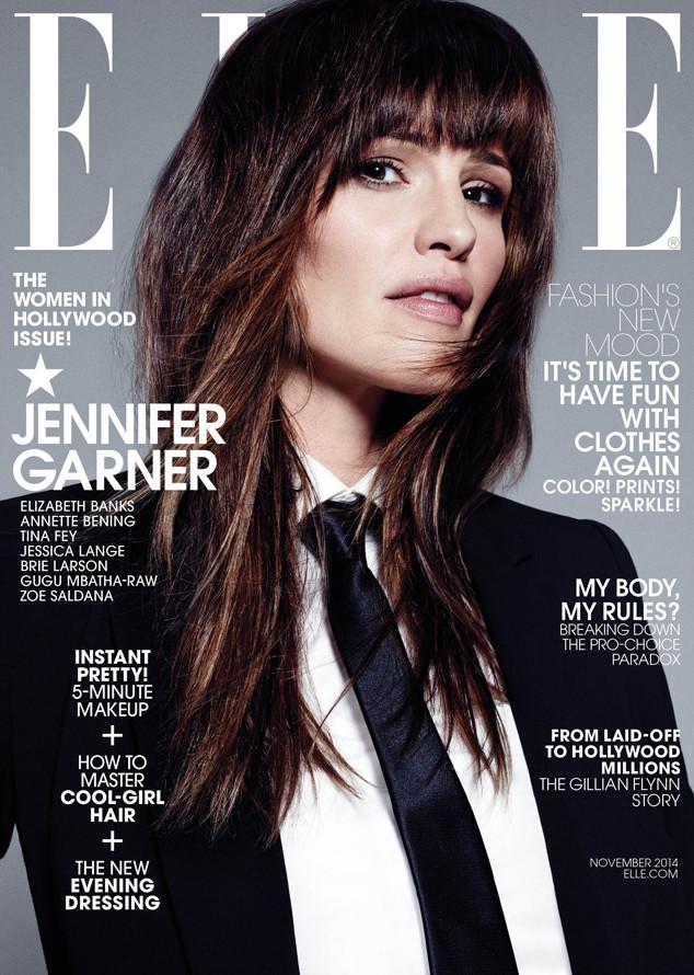 Jennifer Garner, Elle Magazine