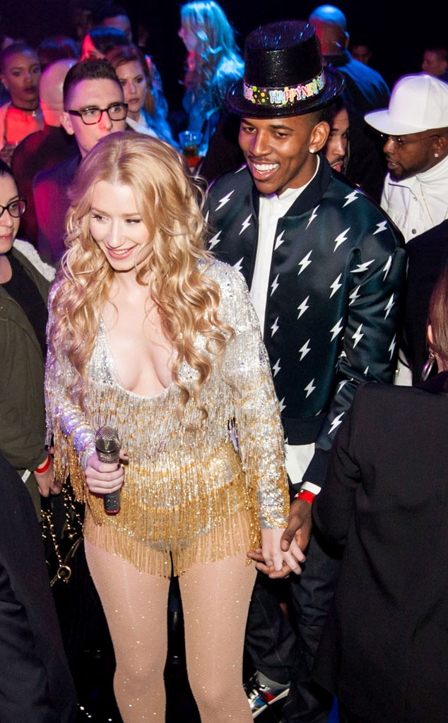Iggy Azalea, Nick Young, New Year's Eve 2015
