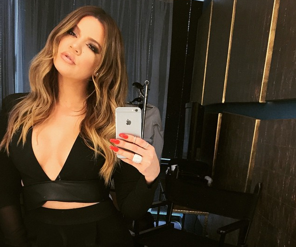 Khloe Kardashian E! Press conference