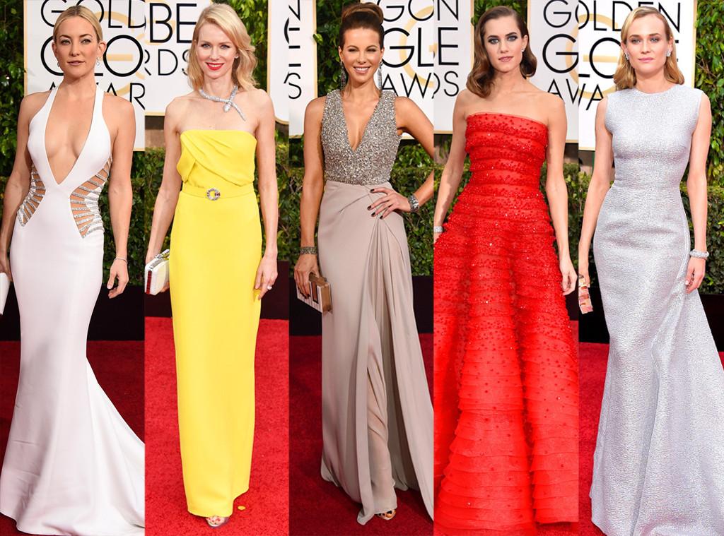 Naomi Watts, Diane Kruger, Allison Williams, Kate Hudson, Kate Beckinsale, Golden Globes