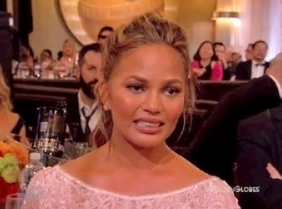 Chrissy Teigen's Cry Face