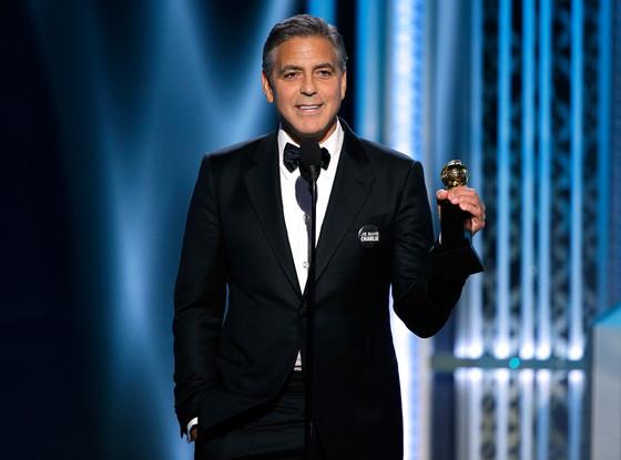 George Clooney, Golden Globes