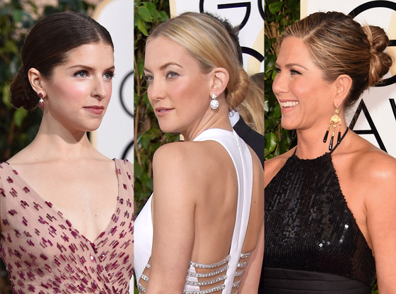 Sleek Buns, Golden Globes