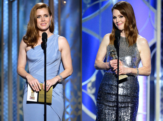 Amy Adams, Julianne Moore, Golden Globes
