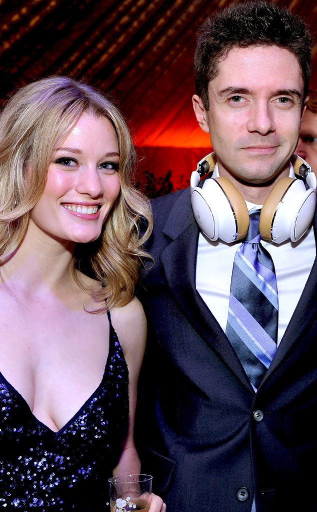 Ashley Hinshaw, Topher Grace