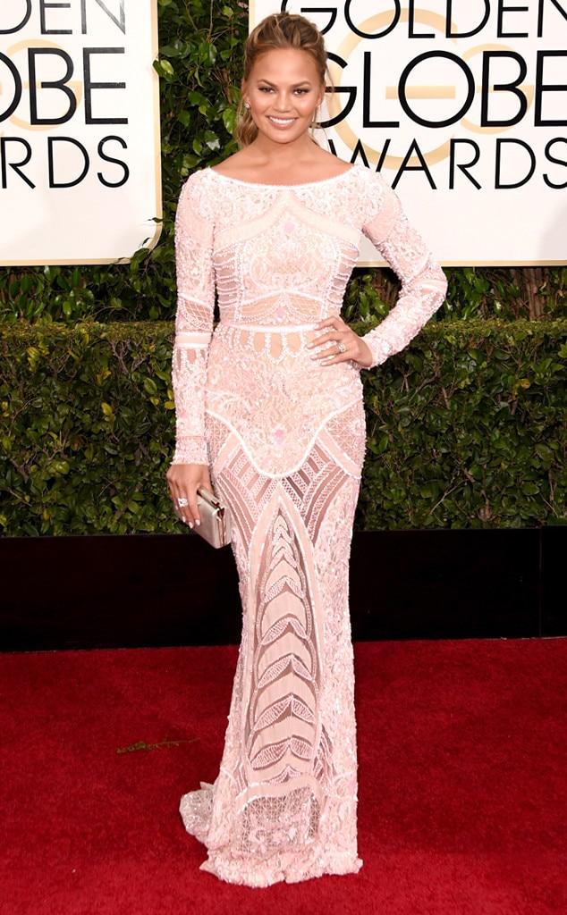 Chrissy Teigen, Golden Globes