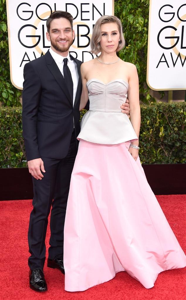Zosia Mamet Wedding.Zosia Mamet Evan Jonigkeit From Couples At The 2015 Golden Globes