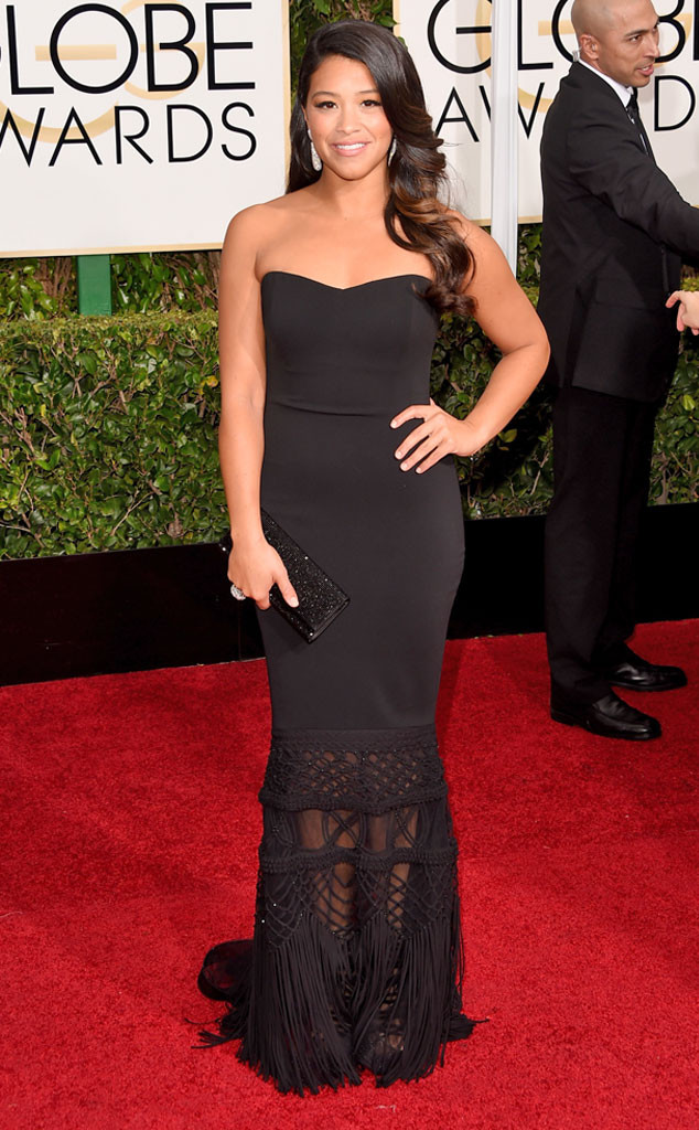 Gina Rodriguez, Golden Globes, 2015