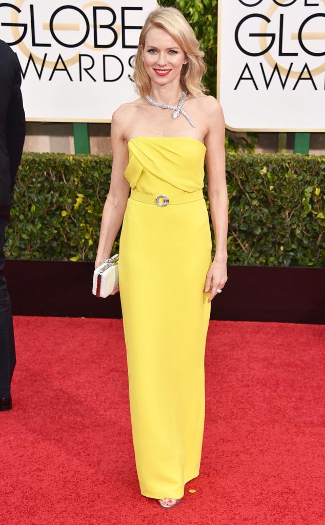Naomi Watts, Golden Globes, 2015
