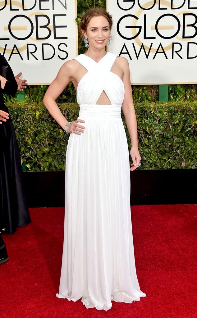 Emily Blunt, Golden Globes, 2015