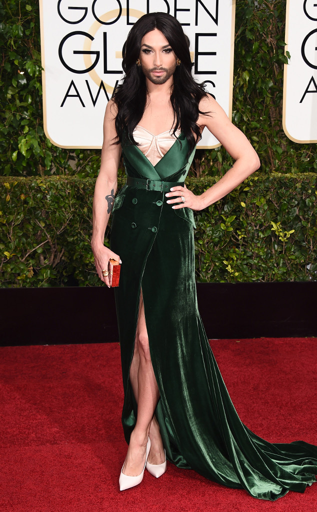 Conchita Wurst, Golden Globes, 2015