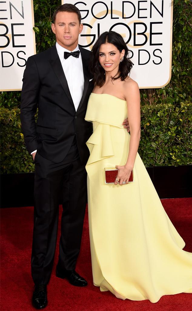 Channing Tatum, Jenna Dewan-Tatum, Golden Globes