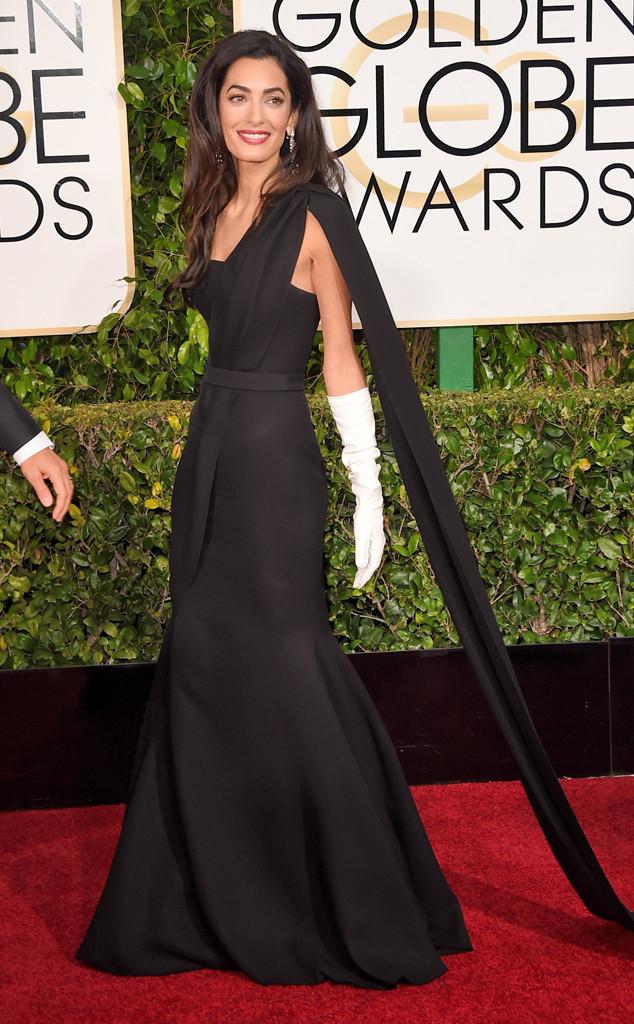 Amal Clooney, Golden Globes - Not for Widget