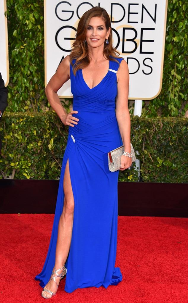 Cindy Crawford, Golden Globes, 2015