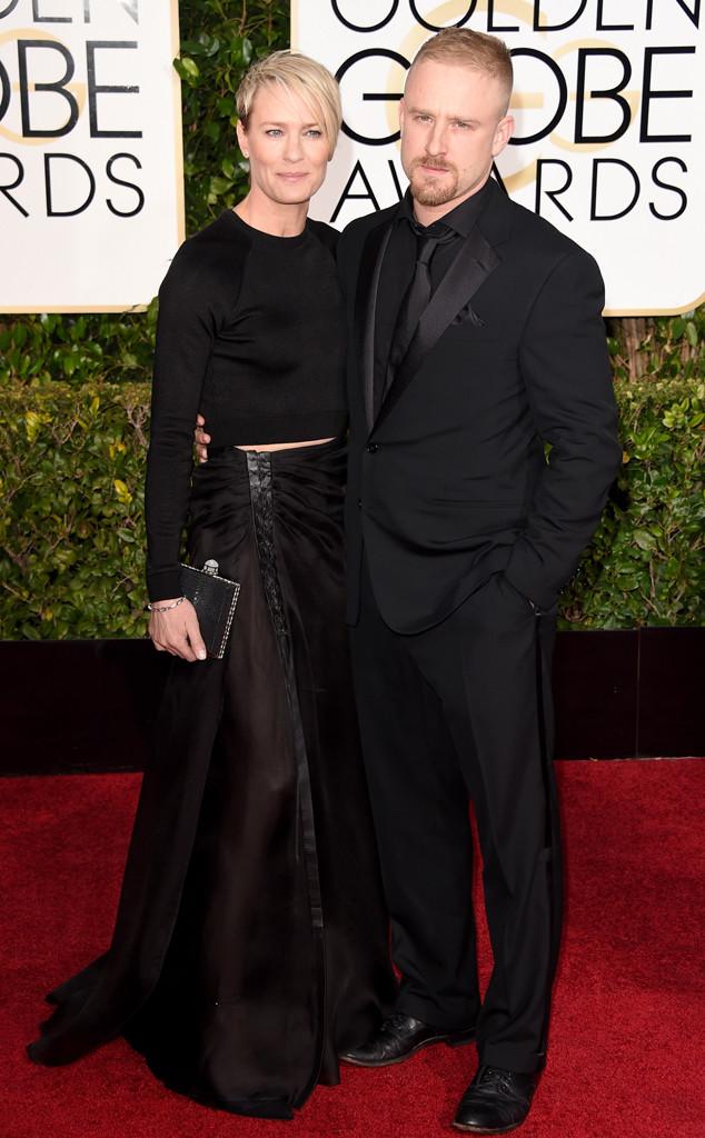 Robin Wright, Ben Foster, Golden Globes