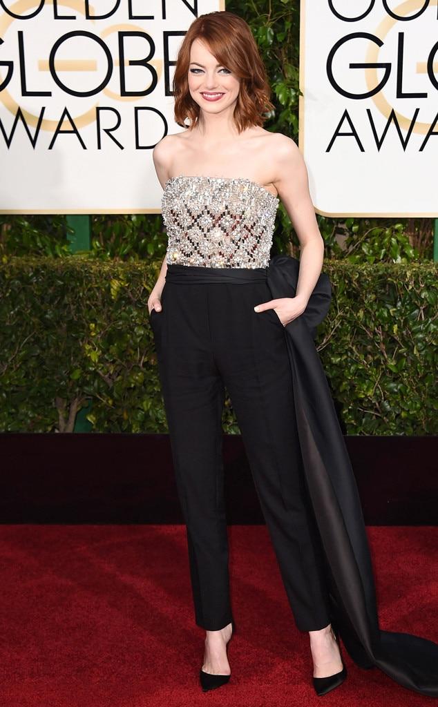 Emma Stone, Golden Globes