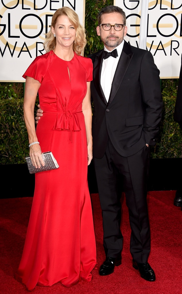 Nancy Carell, Steve Carell, Golden Globes
