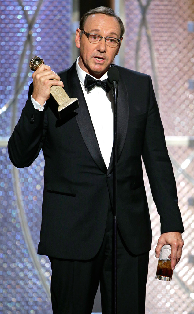 Kevin Spacey, Golden Globes
