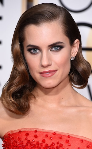 Best Beauty Looks, Golden Globes, Allison Williams