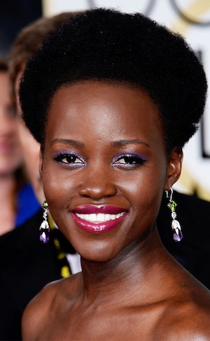 Best Beauty Looks, Golden Globes, Lupita Nyong'o