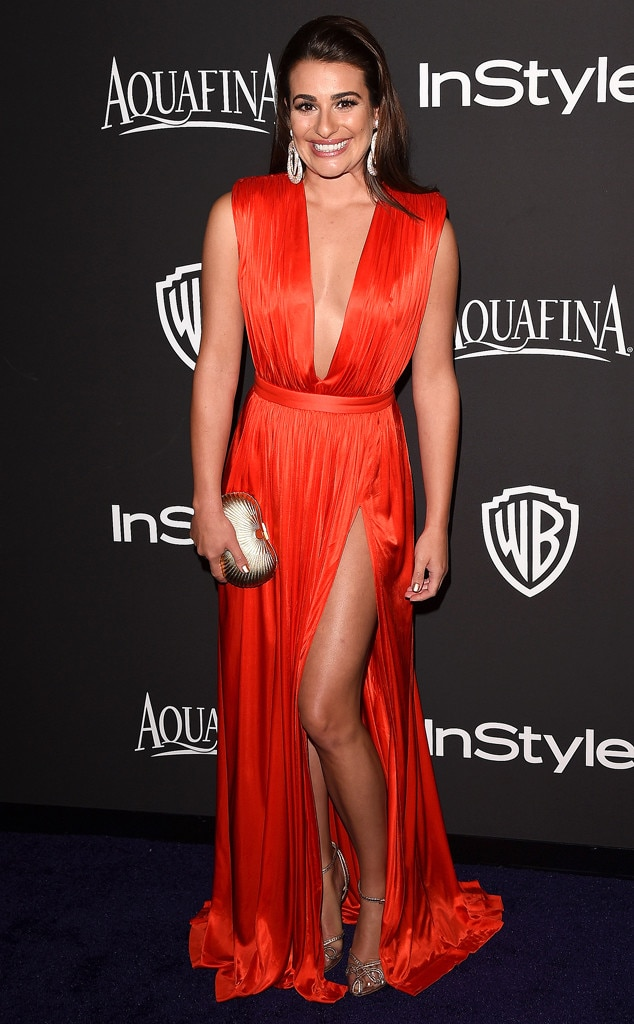 Lea Michele, Golden Globe, After Party