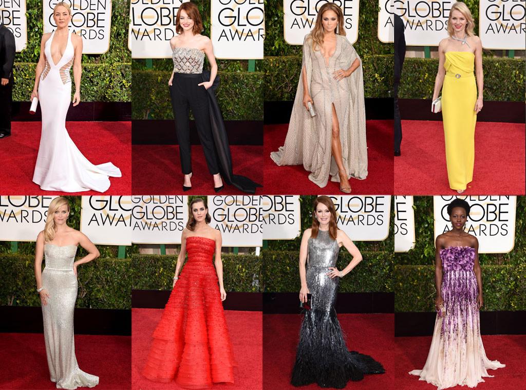 Golden Globes, Best Dressed