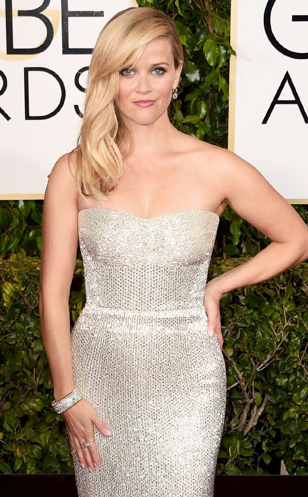 Golden Globes, Celeb Bling, Reese Witherspoon