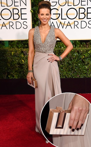 Kate Beckinsale, Golden Globes, Clutch