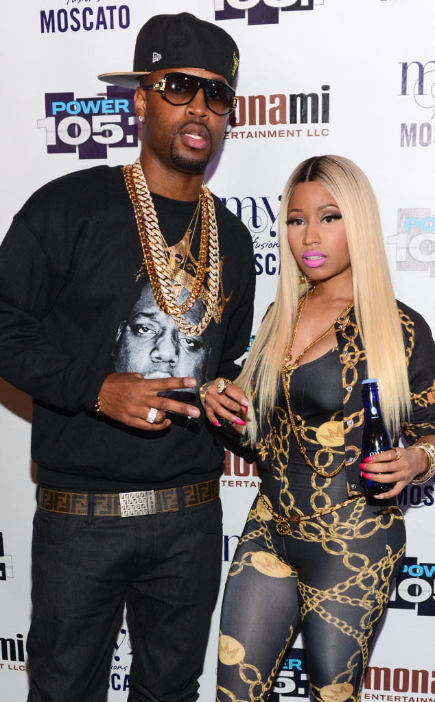 Nicki Minaj, Safaree Samuels