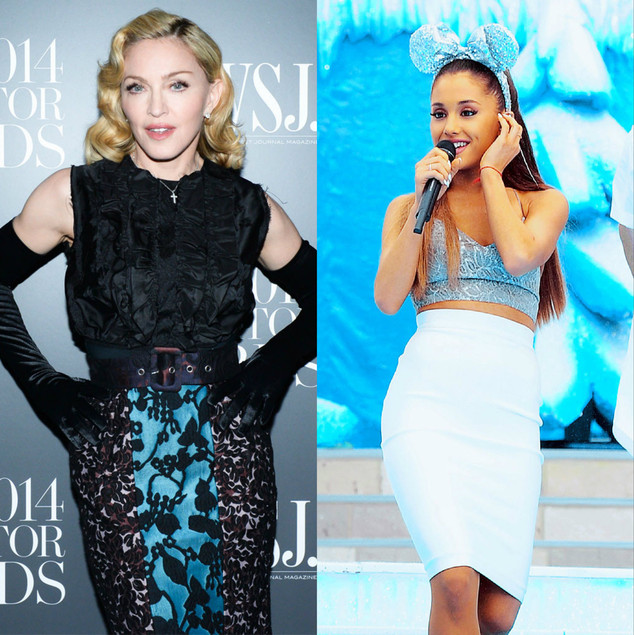 Madonna, Ariana Grande