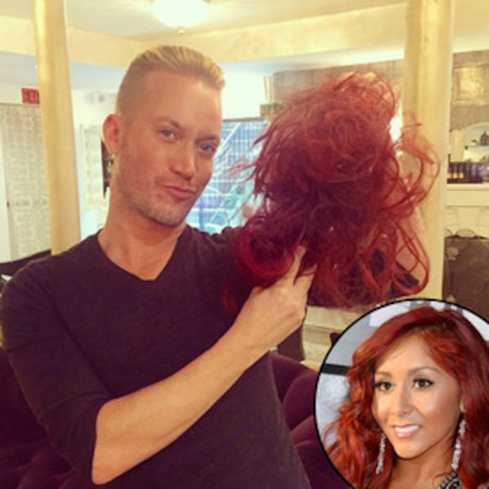 Snooki Looks Better Than Ever Mtv Star Ditches Extensions And Dyes