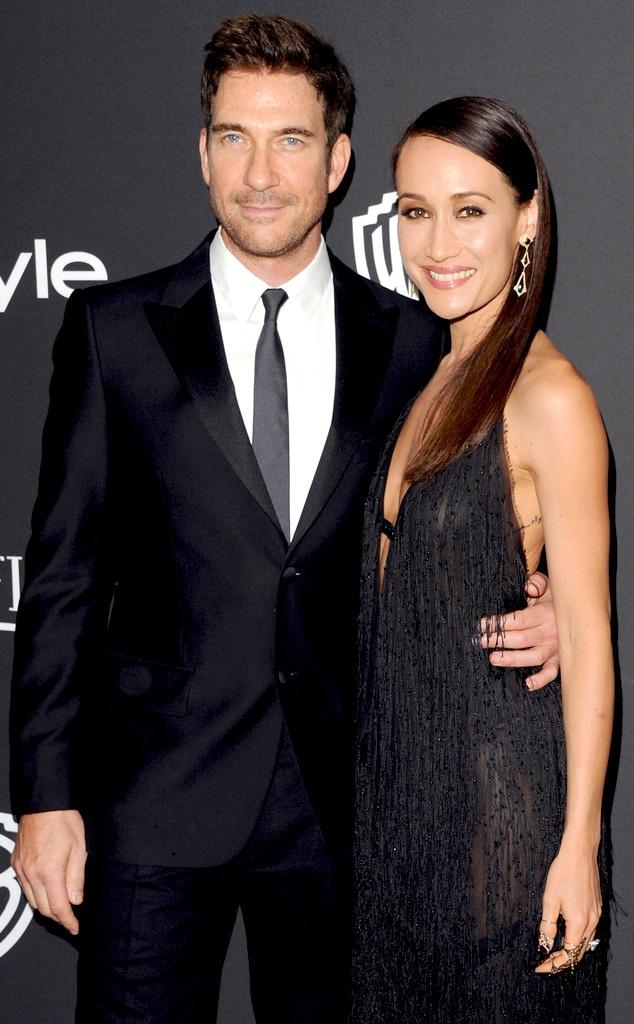 Dylan McDermott and Stalker co-star Maggie Q romantically