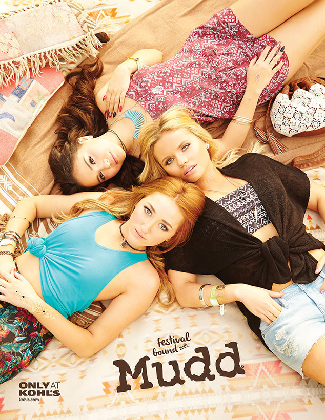Noah Cyrus, Stella Hudgens, Alli Simpson, Mudd Girls