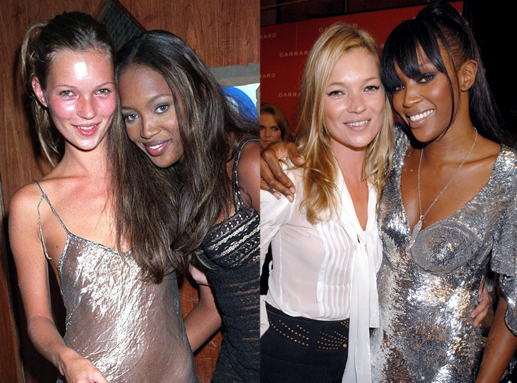 Kate Moss   Naomi Campbell from Famous Friends  Then   Now   E! News 0d7ac8b82b