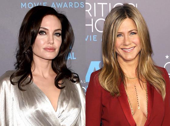 Jennifer Aniston, Angelina Jolie, Critics' Choice Awards