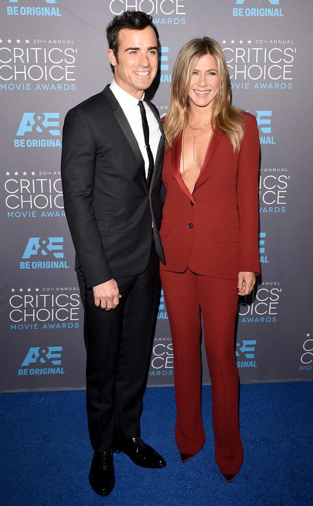 Jennifer Aniston, Justin Theroux, Critics' Choice Awards