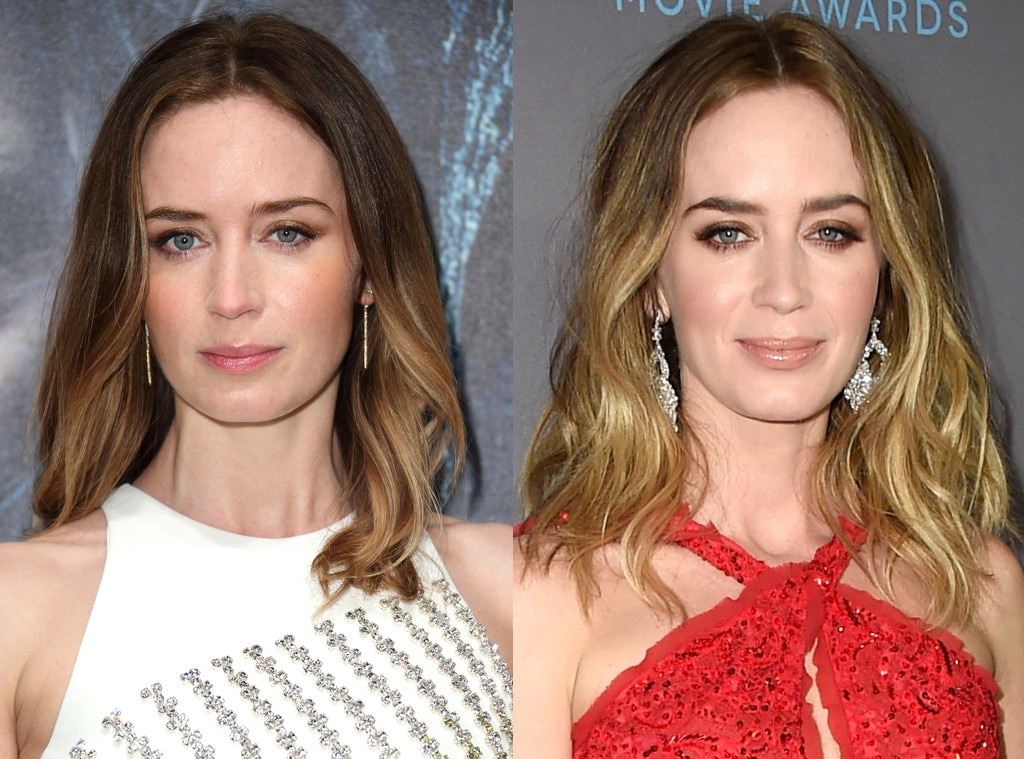 Emily Blunt From Celebrities Changing Hair Color E News