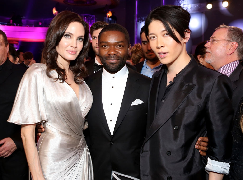 Angelina Jolie David Oyelowo Miyavi From 2015 Critics Choice