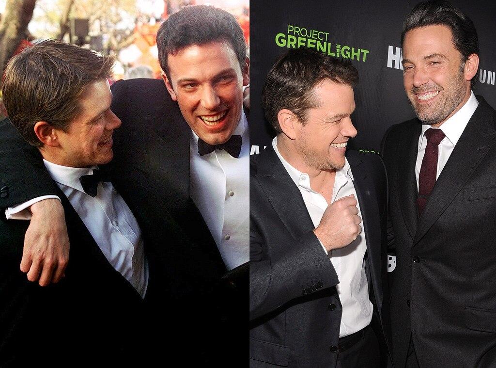 Ben Affleck & Matt Damon from Famous Friends: Then & Now | E