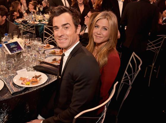 Justin Theroux,  Jennifer Aniston, Critics' Choice Awards